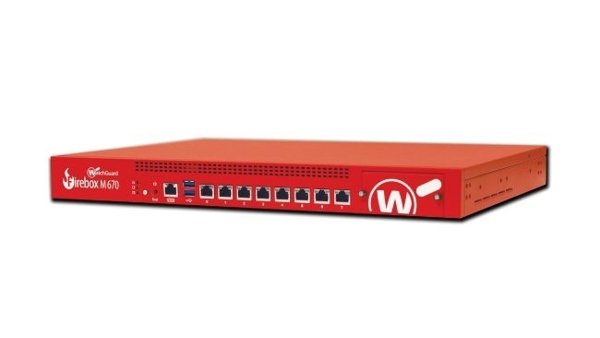 Picture of Trade In to WatchGuard Firebox M670 with 3-yr Basic Security Suite