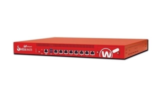 Picture of WatchGuard Firebox M670 with 1-yr Standard Support