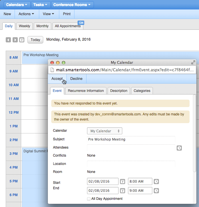 Picture of Hosted Smartermail Server