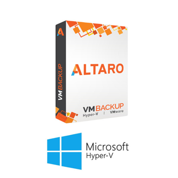 Picture of Altaro VM Backup for Hyper-V - Upgrade to latest version - Unlimited Plus Edition with 1-yr SMA