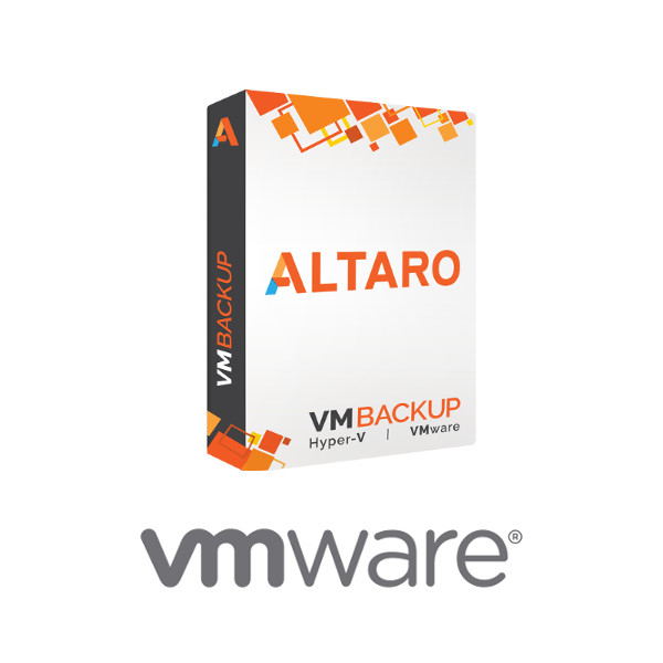 Picture of Altaro VM Backup for VMware - Upgrade to latest version - Standard Edition with 3-yr SMA